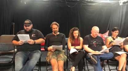 Off-Script Reading at Brazen Giants