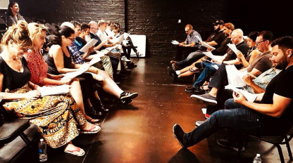 Off-Script Reading at Brazen Giants Ensemble